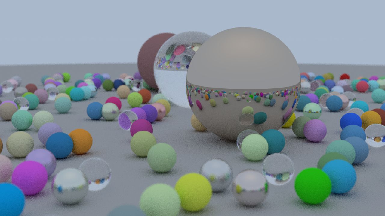 Ray Tracer in VEX