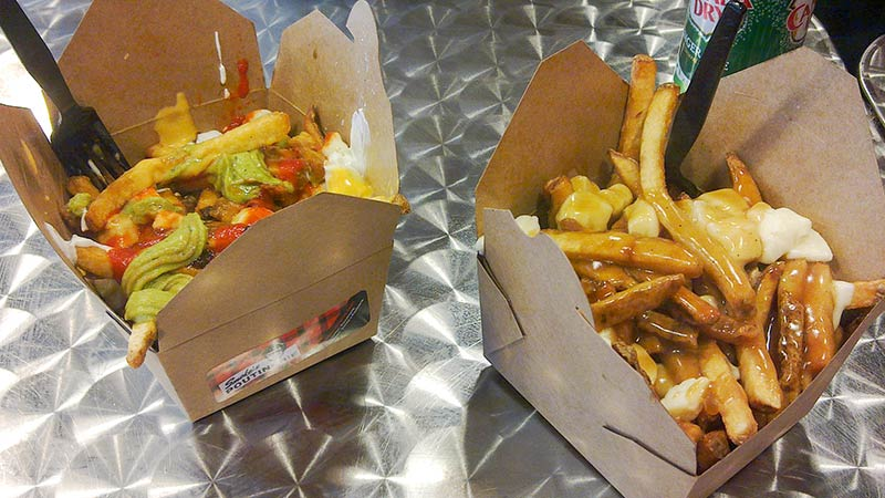 Poutine, a specialty from Quebec