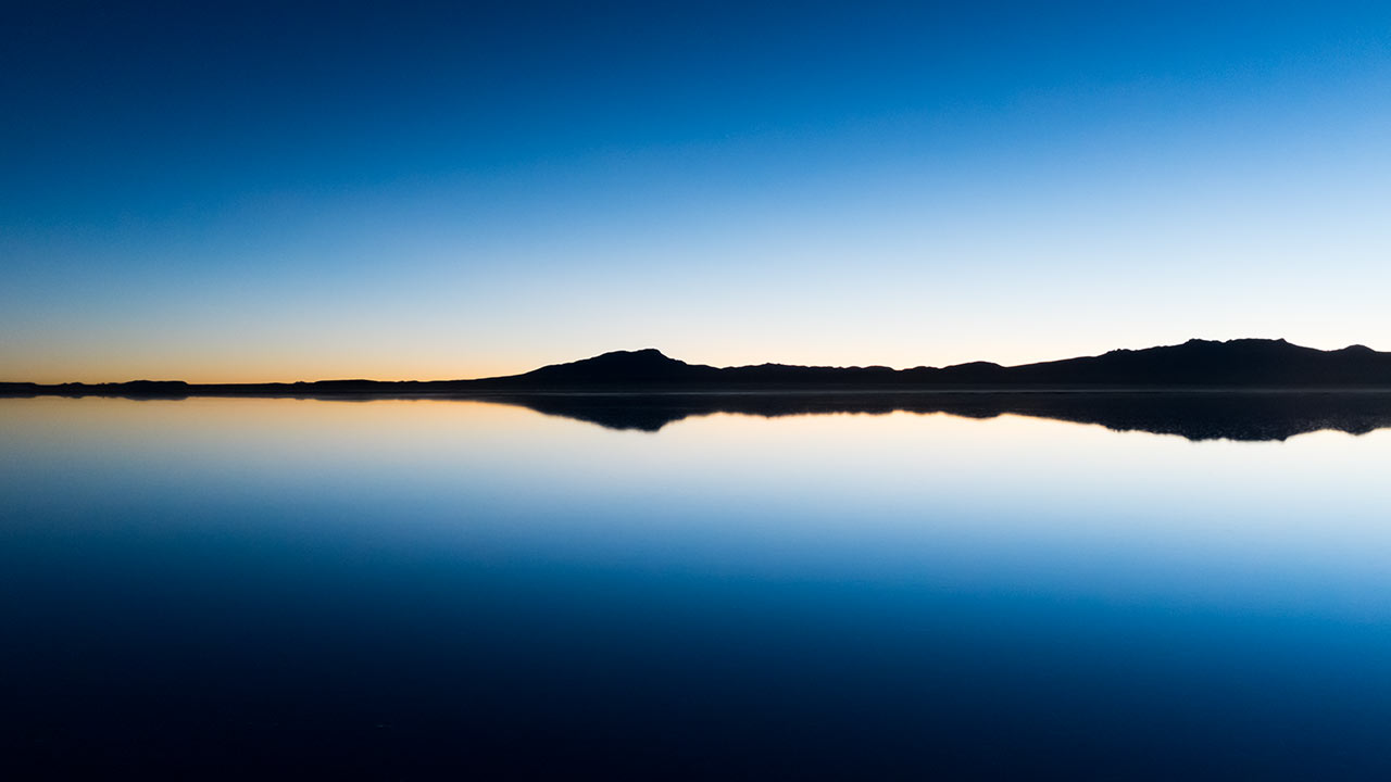 Before sunrise, Salar de Uyuni, Bolivia