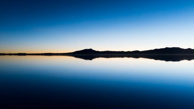 Before sunrise, Salar of Uyuni, Bolivia