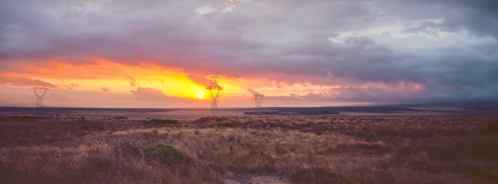 Sunset, New Zealand