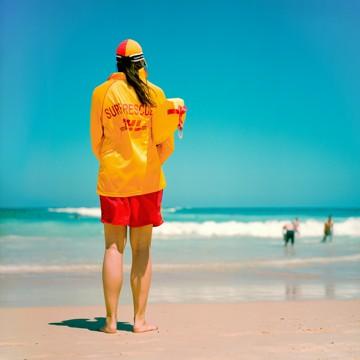 Surf rescue, Sydney, Australia